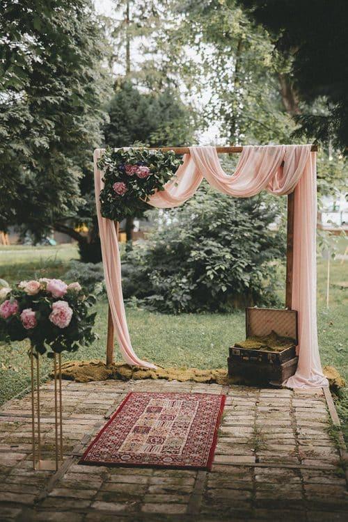 Fairytale luk za ceremoniju