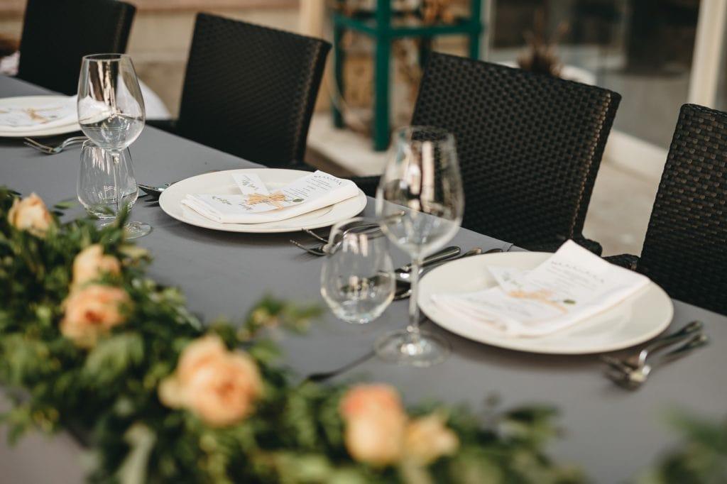Mediteransko vjenčanje detalji