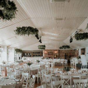 Viseće dekoracije na vjenčanju